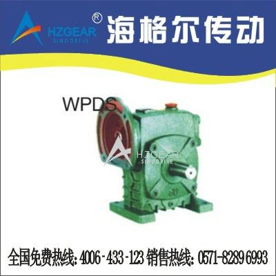 WPDS蜗轮蜗杆减速机 1