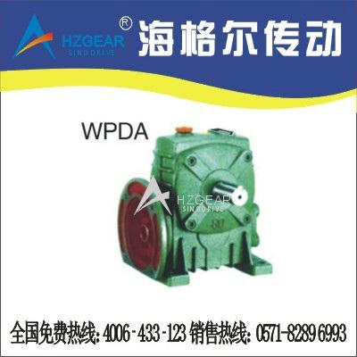 WPDA Worm Gear Speed Reducer 1