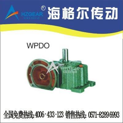 WPDO Worm Gear Speed Reducer 1
