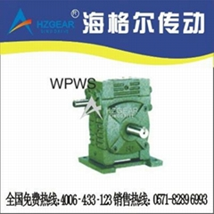 WPWS Worm Gear Speed Reducer