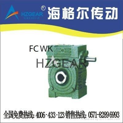FCWK蝸輪蝸杆減速機 1