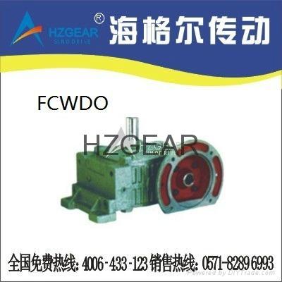FCWDO Worm Gear Speed Reducer 1
