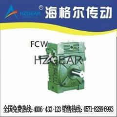 FCW型蜗轮蜗杆减速机