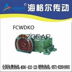 FCWDKO 蝸輪蝸杆減速機