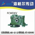 FCWDV Worm Gear Speed Reducer
