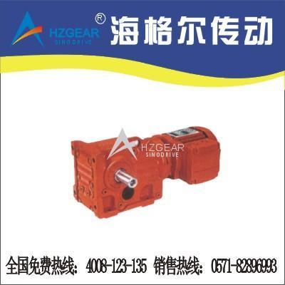 K系列斜齿轮-锥齿轮减速机  1