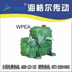 WPEA Worm Gear Speed Reducer