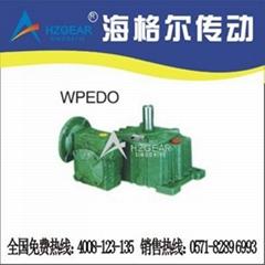 WPEDO、FCEDO型雙極塑料設備用蝸輪減速機