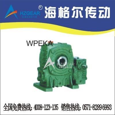 WPEKA、FCEKA型双极冶金蜗轮减速机 1