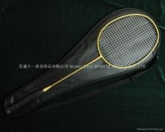 大一牌全碳素高級羽毛球拍