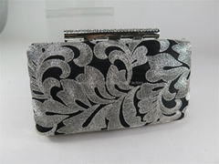 Women's Event/Party Satin Embroidery Evening Clutch Bag