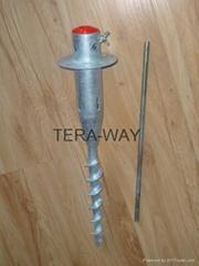 Scew anchor
