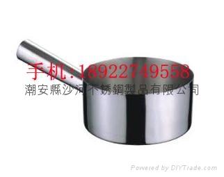 家用厨房用品14cm不锈钢U形水勺砂锅米线锅 1
