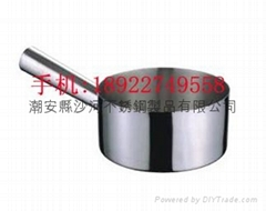 Household Commercial Kitchen Item 304 Stainless steel 18cm Water Ladle