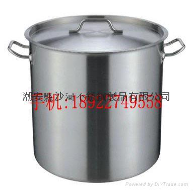 catering equipment kitchenware s/s stockpot with high quality 1
