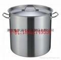 不锈钢复合底汤桶,斜身提桶