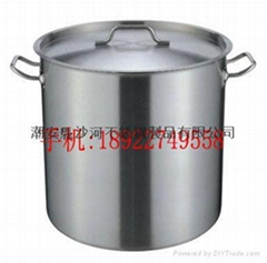 catering equipment kitchenware s/s stockpot with high quality