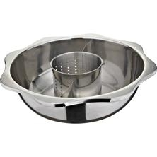 stainess steel steamboat/Stainless steel perforated slag-free hot pot