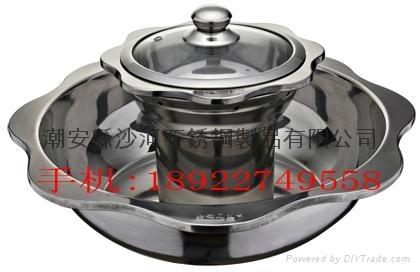 蓮花鴛鴦干鍋 1