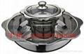Stainess steel Shabu shabu hot pot Layer 2
