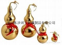 銅制玲瓏葫蘆