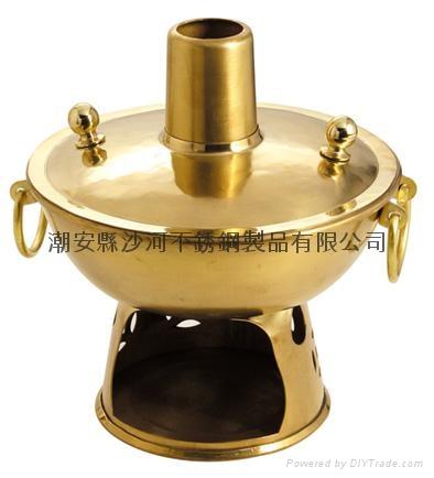 銅燒環保油煙囪火鍋