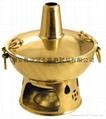 銅個人煙囪火鍋