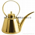 Copper tea pot extended mouth 2