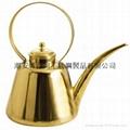 φ23cm*L100cm銅加長嘴八寶茶壺