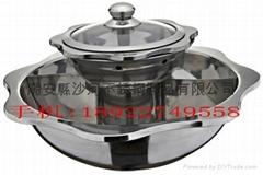 2 layer Shabu Shabu Hot pot,Double Layer Yuanyang Hot pot
