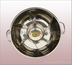steamboat divided into 7 Compartments/Various styles steamboat