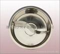 商业厨具三合钢鸳鸯火锅36cm不锈钢鸳鸯锅可用电磁炉燃气炉瓦斯炉 7