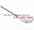stainless steel wire skimmer/slotted spoon with long handle  2