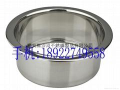 不锈钢下沉式涮涮锅锅圈
