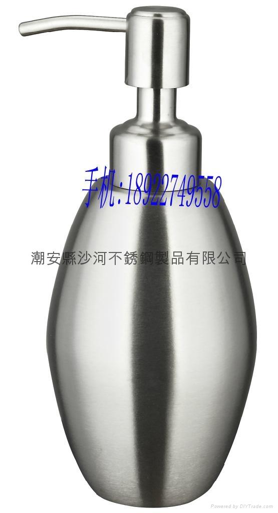 Stainless Steel Liquid Soap Dispenser Pump Bottle for Holland Market 1