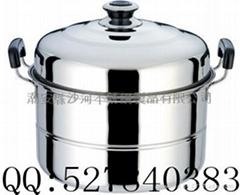 不锈钢单层蒸锅