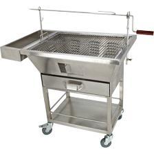不锈钢烧烤车