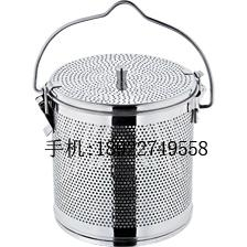Stainless steel perforated soup spice basket