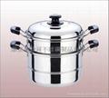 二層蒸鍋,炊具