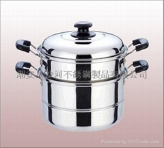 Two Layer Steamer Pot