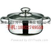 不锈钢弧型锅