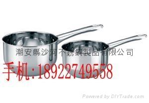 家用厨房用品14cm不锈钢U形水勺砂锅米线锅 2