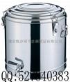 大容量不锈钢保温茶水桶可上锁公