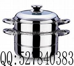 不锈钢蒸锅