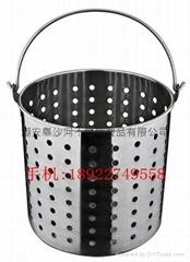 Leaky Bucket,Stainless steel Leaky Bucket,filtrate Bucket,