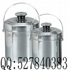 stainless steel Single-layer portable pot,food container