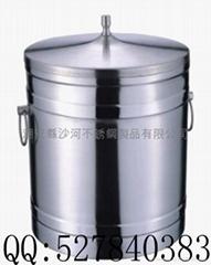 不锈钢双层冰桶