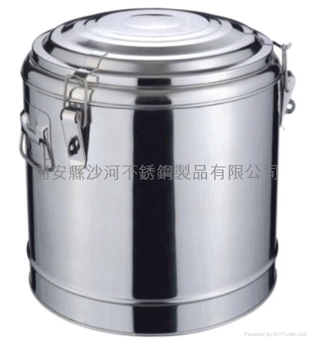 不鏽鋼保溫茶水桶 2