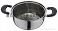 16cm不鏽鋼鴛鴦鍋