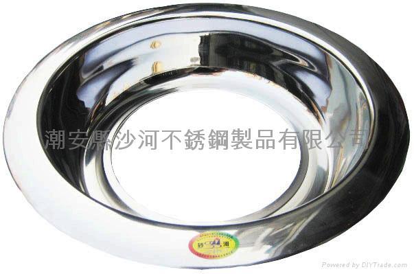 不鏽鋼太陽盆 5